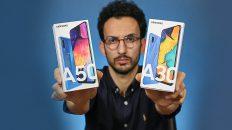 بررسی Galaxy A30 & Galaxy A50