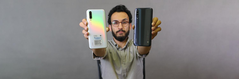 بررسی گوشی Xiaomi A3 Vs Xiaomi CC9