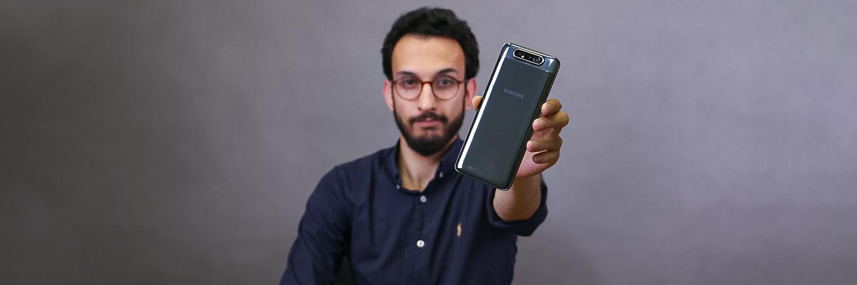 بررسی Galaxy A80
