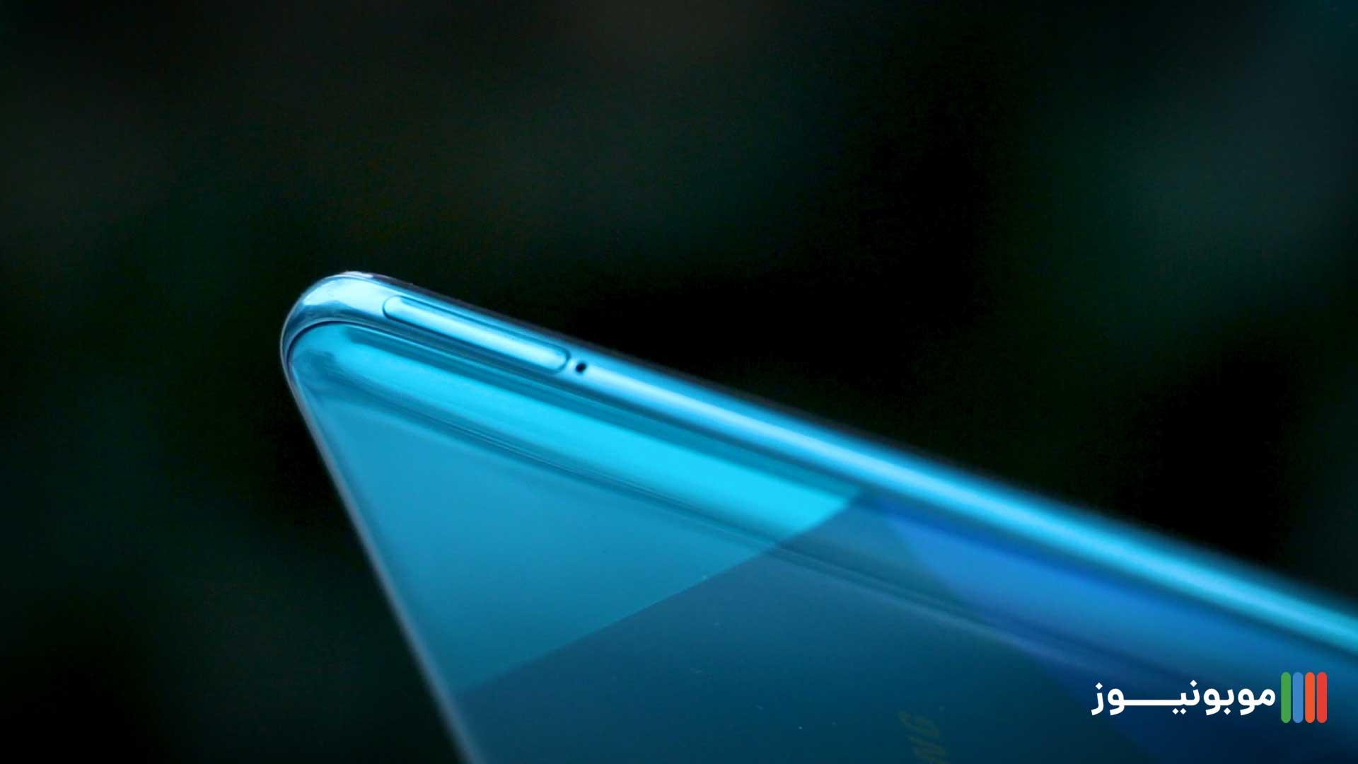 طراحی سمت چپ فریم میانی Galaxy A50s