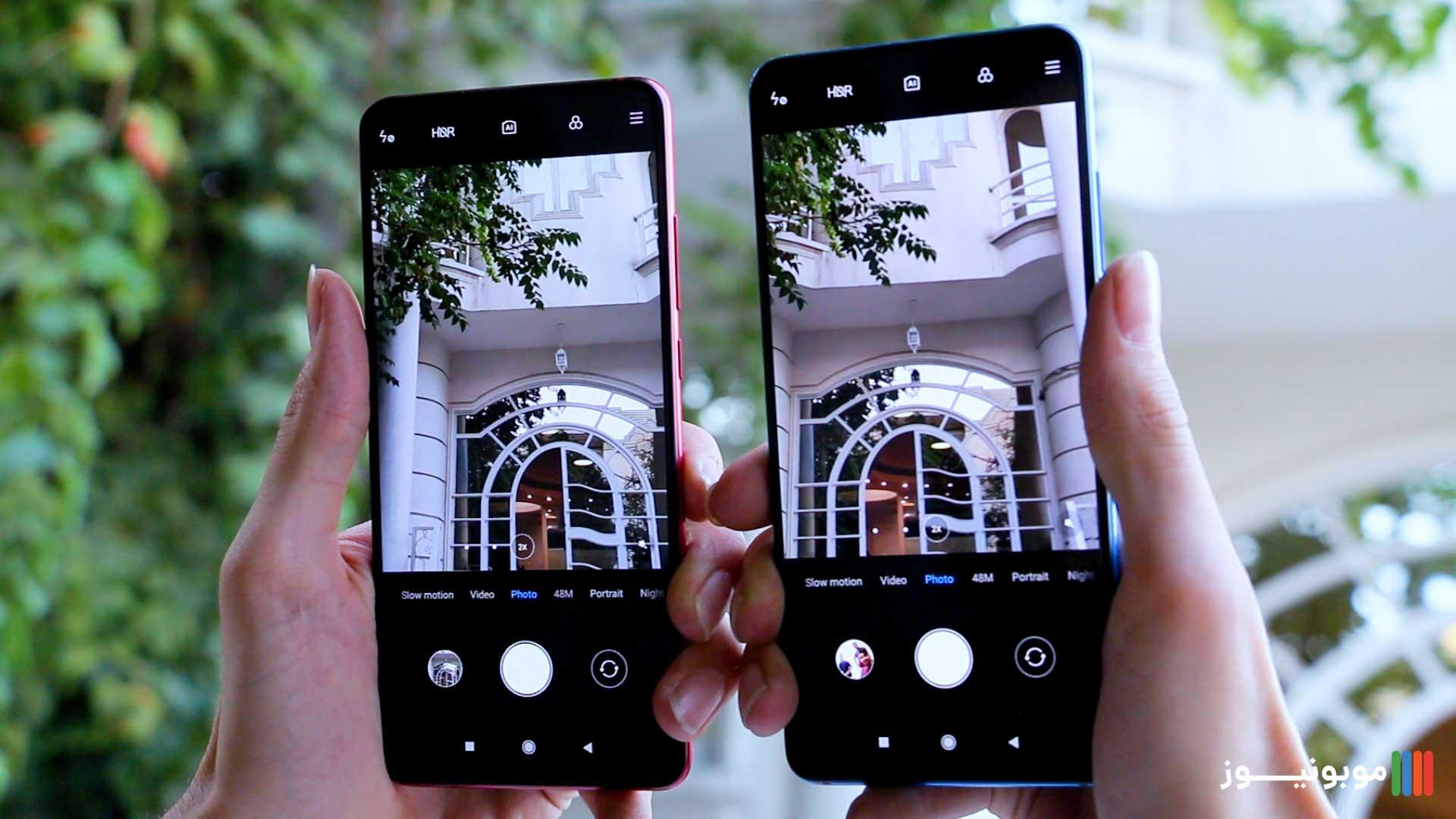 دوربین Mi 9T و K20 Pro