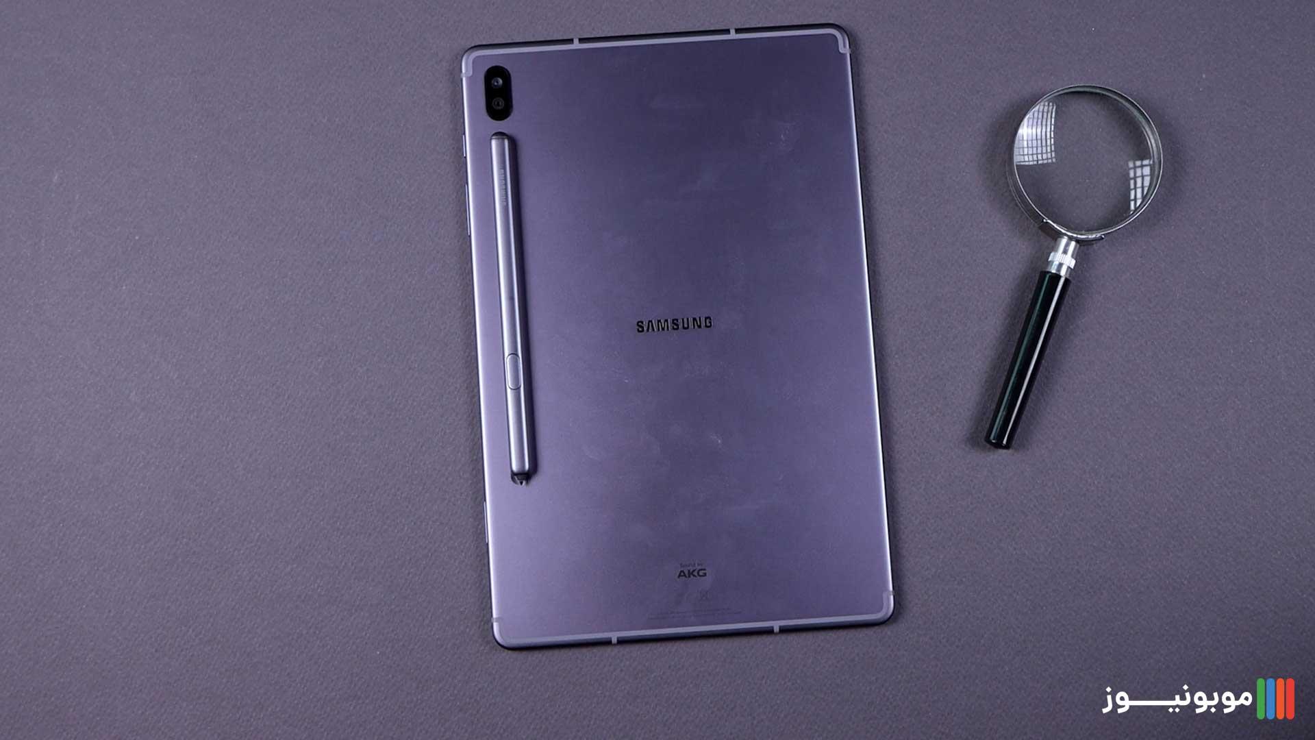 بررسی تبلت Galaxy Tab S6