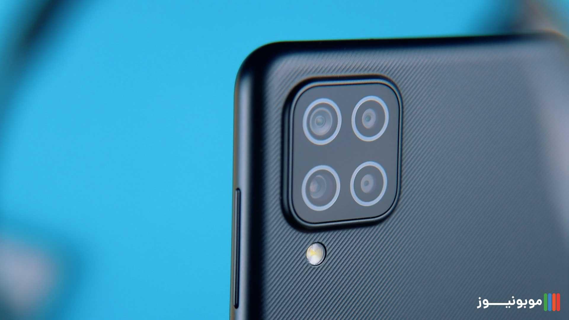 دوربین های Galaxy A12