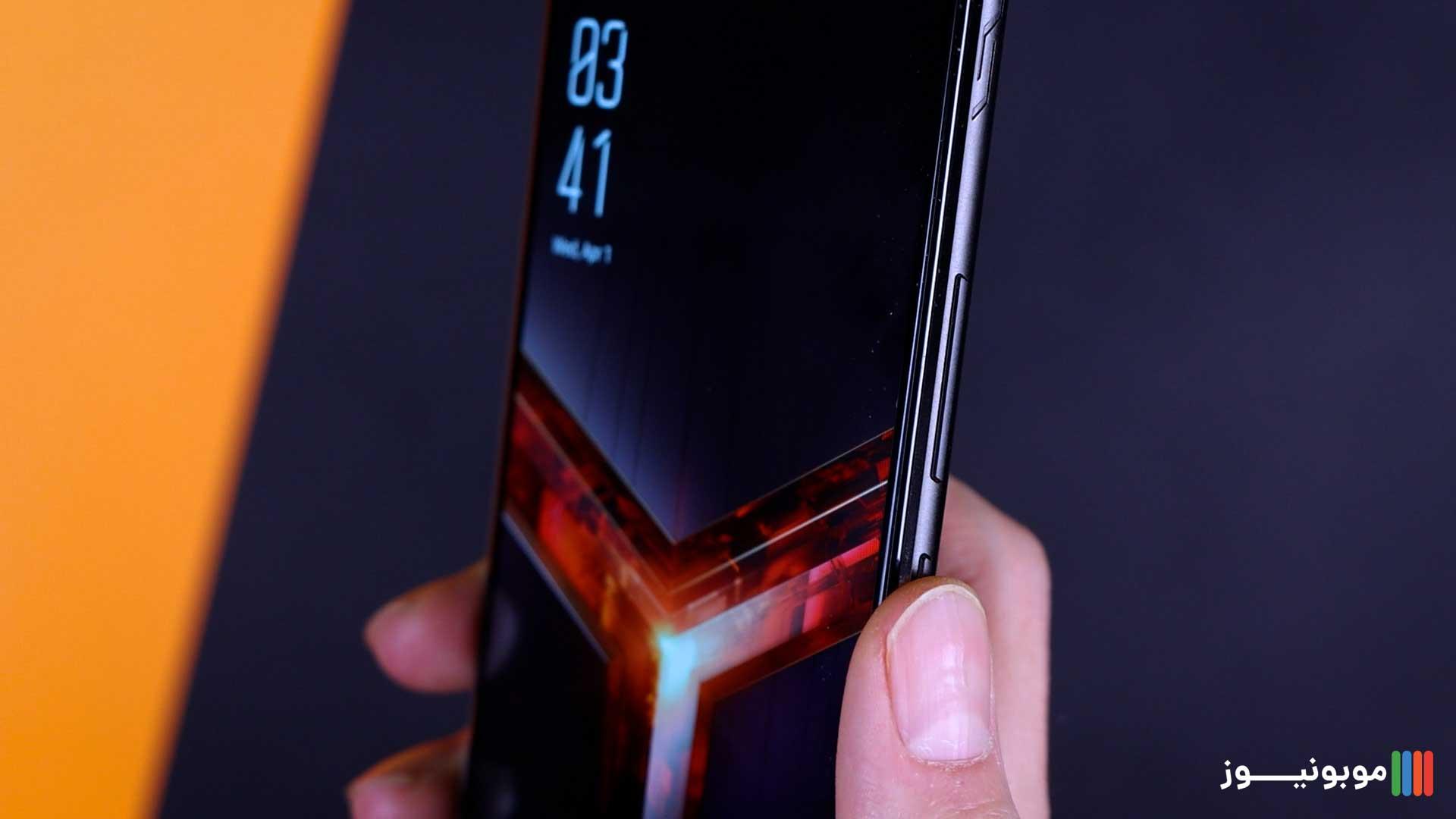 طراحی سمت راست ROG Phone 2