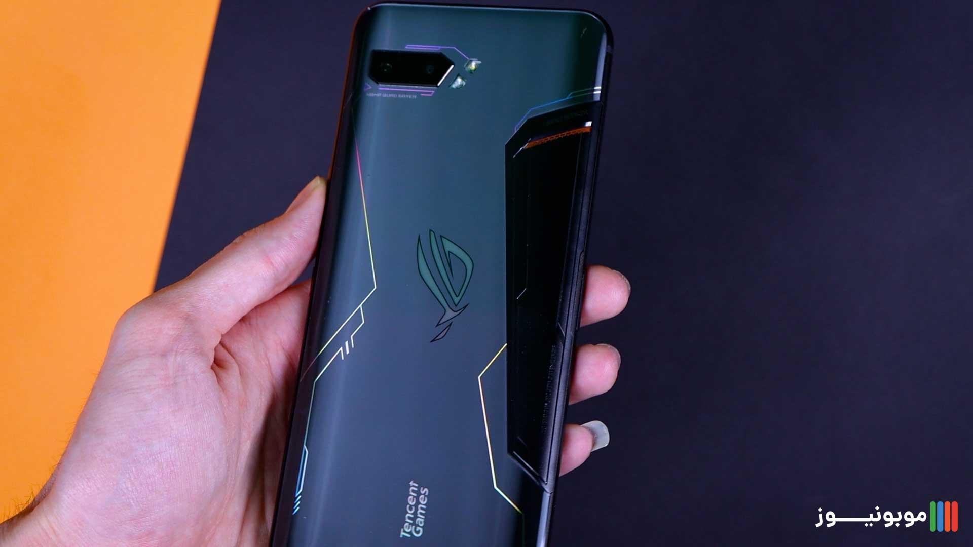 طراحی قاب پشتی ROG Phone 2