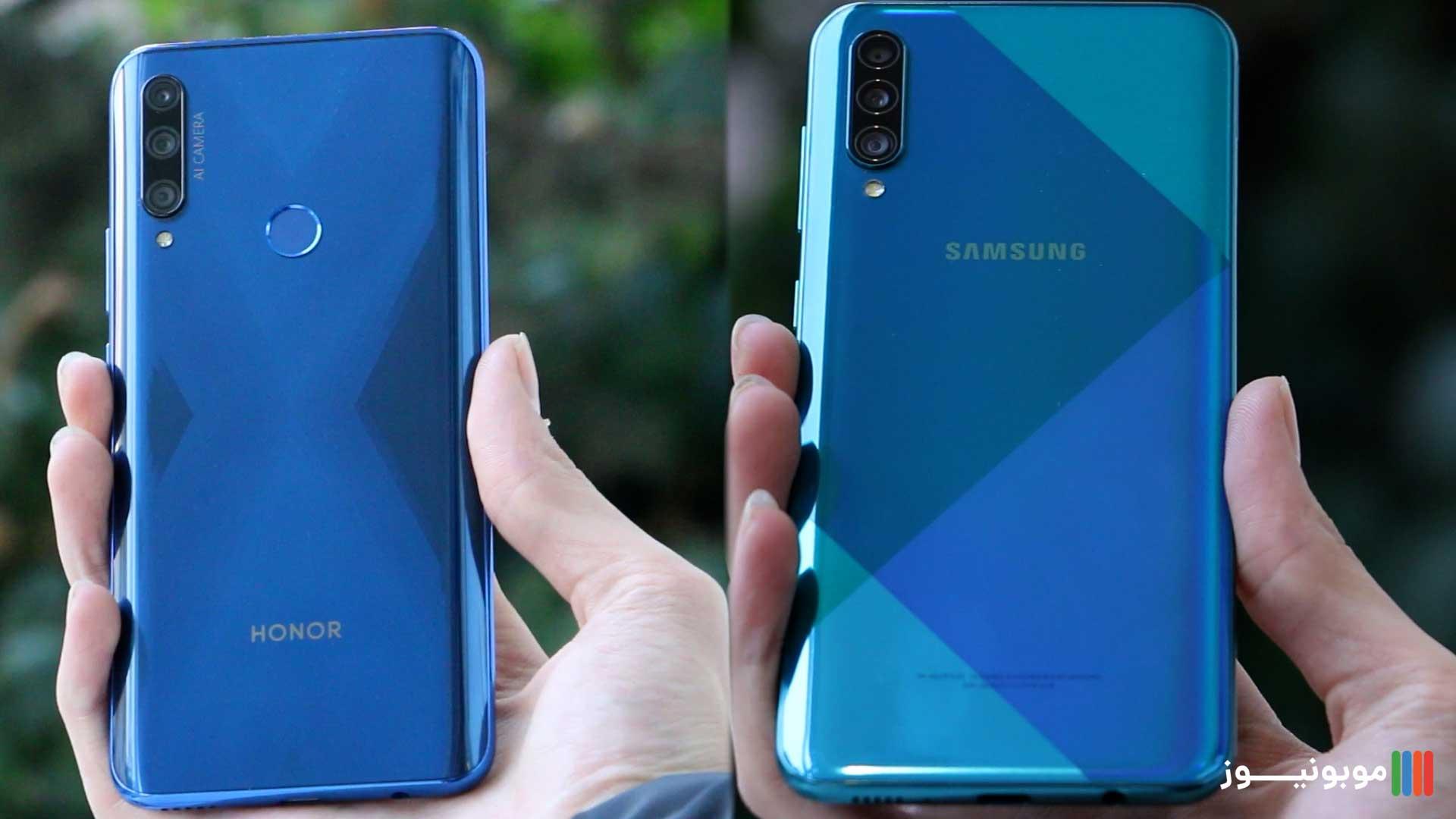 طارحی قاب پشتی HONOR 9X و Galaxy A50s