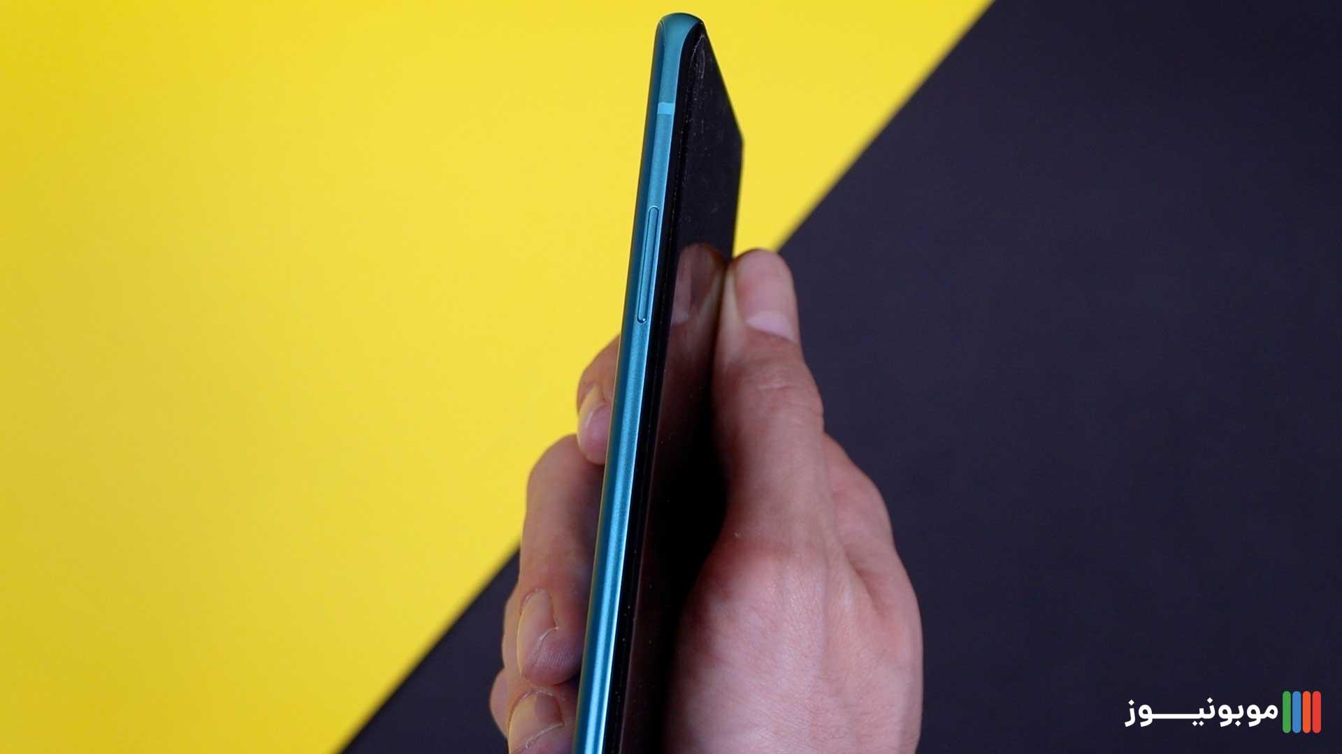 طراحی سمت چپ OnePlus 8
