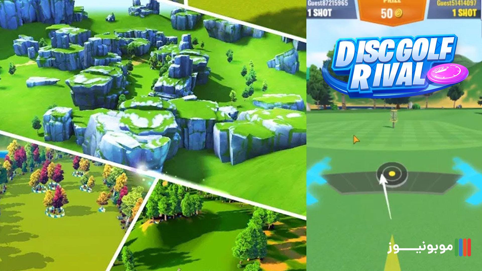 بازی مهیج و سرگرم کننده Disc Golf Rival