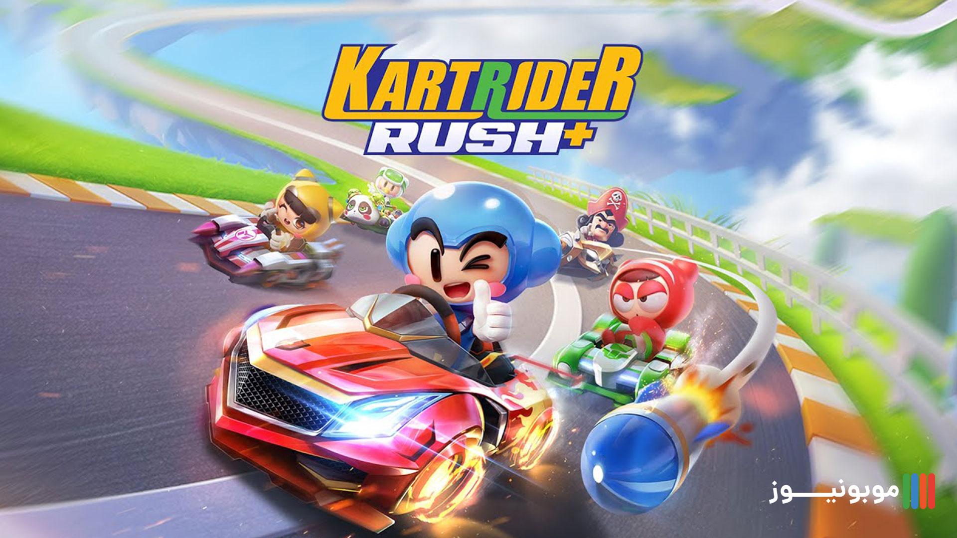 بازی موبایلی +KartRider Rush