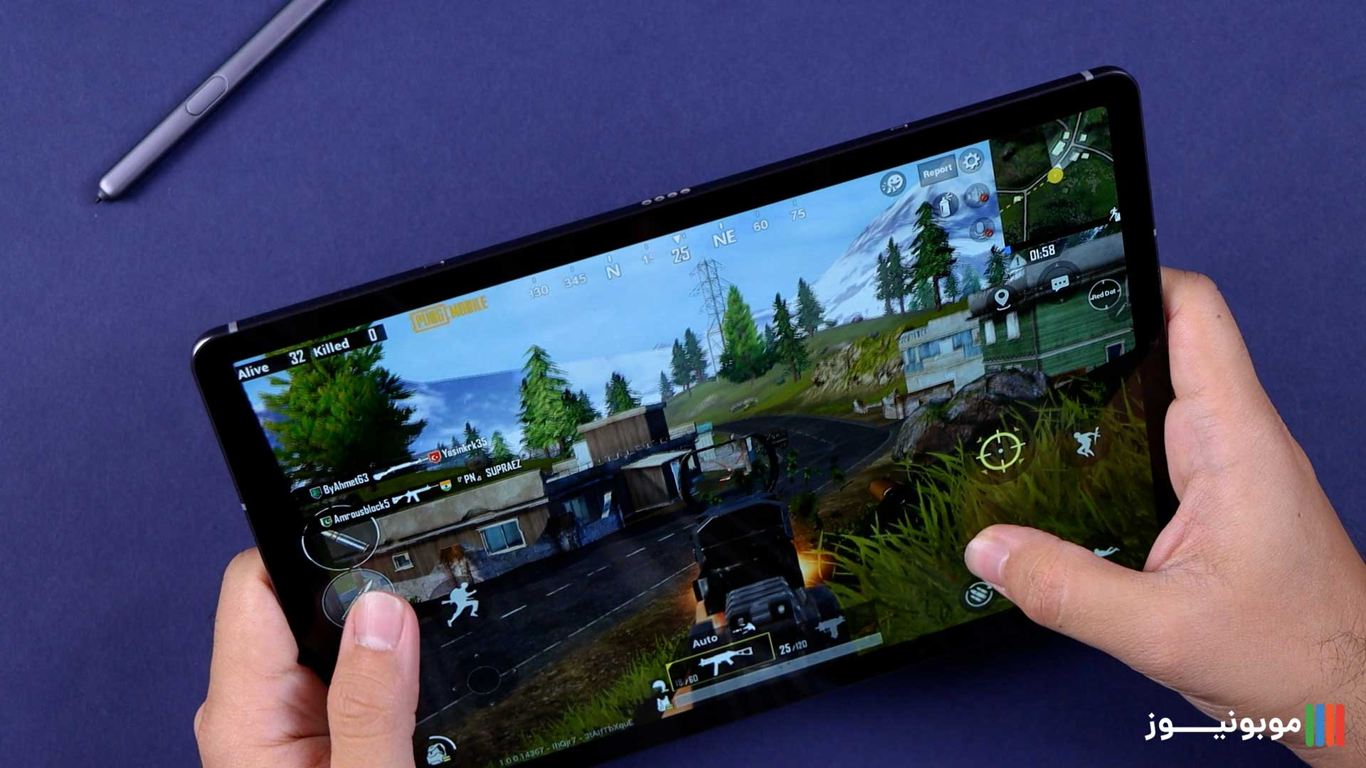 پردازنده Galaxy Tab S6