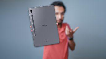 بررسی تیلت Samsung Galaxy Tab S6