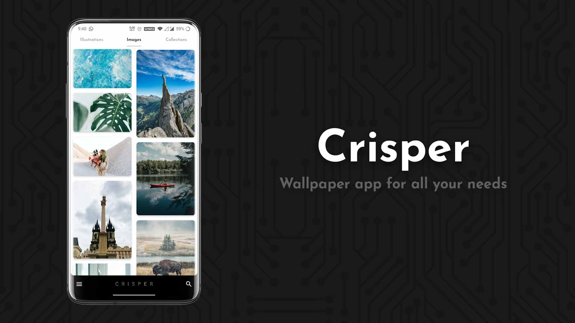 اپلیکیشن Crisper