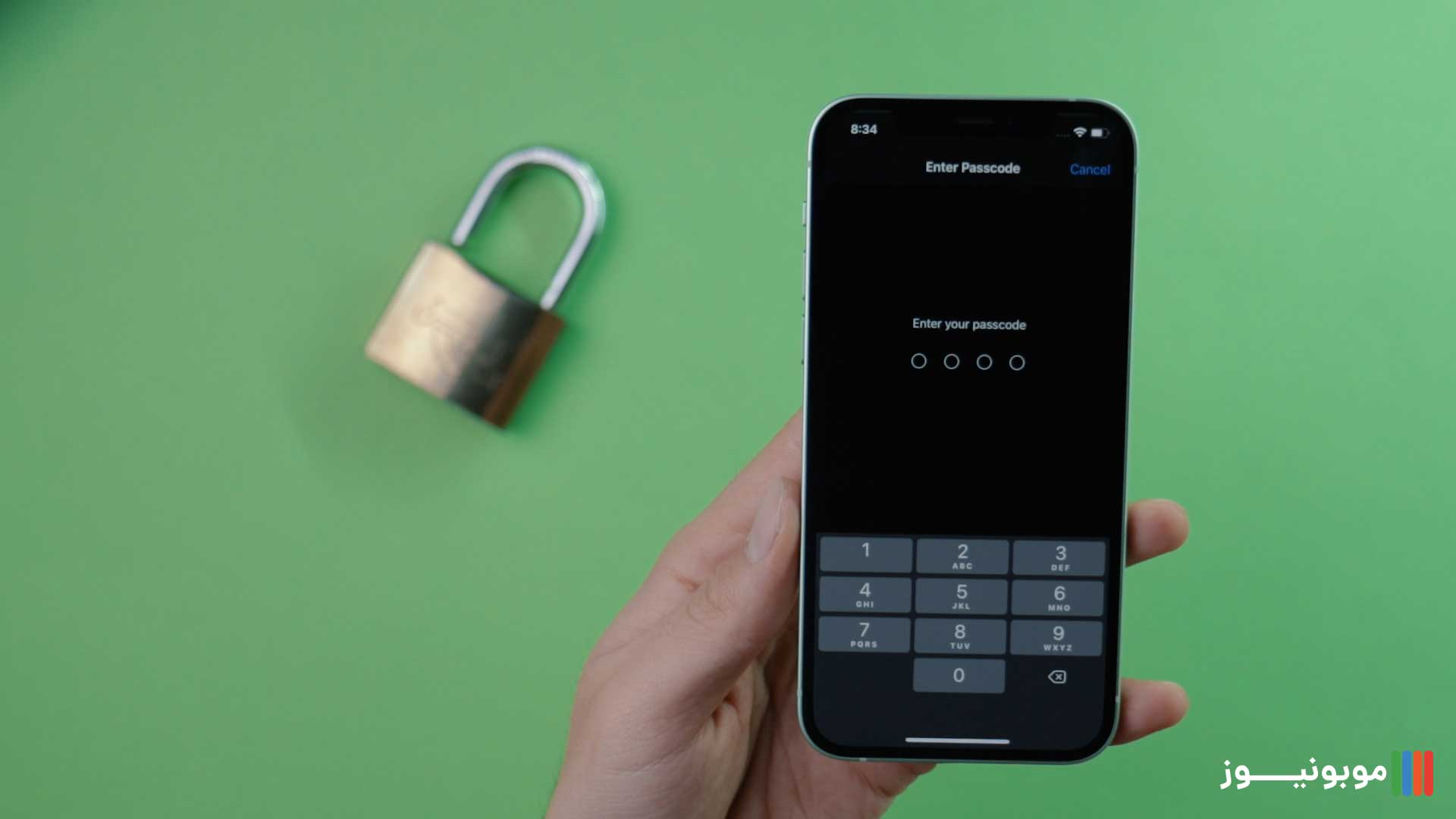 بخش امنیت iPhone 12