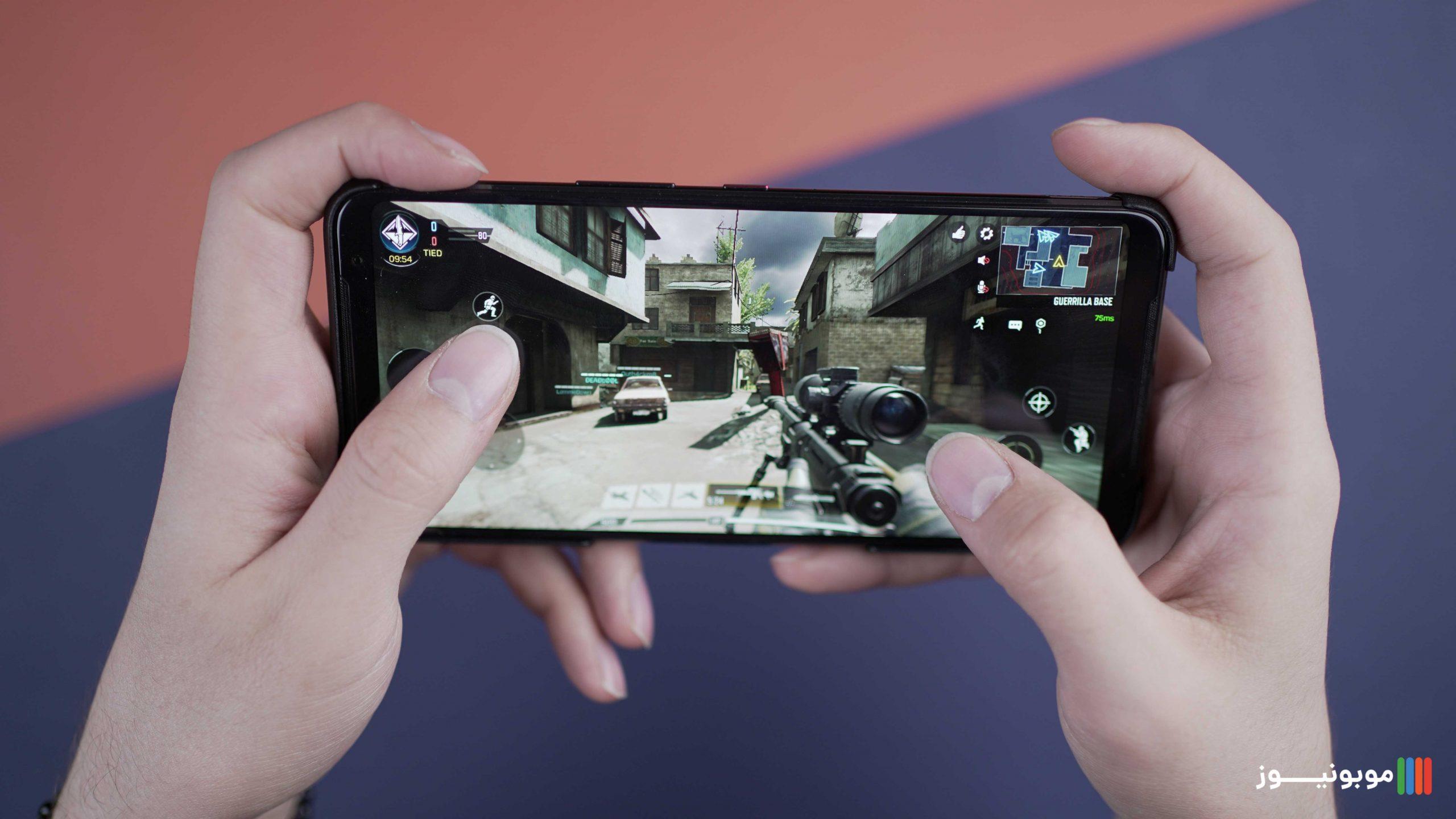 عملکرد پردازشی ROG Phone 3