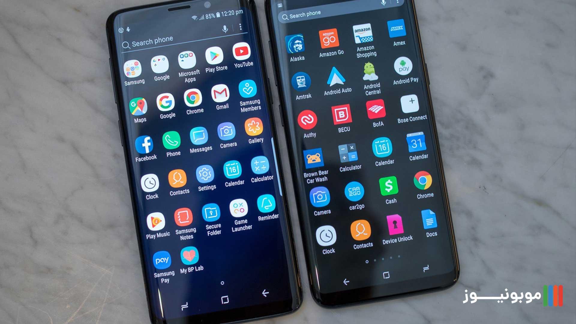 تفاوت رابط های کاربری گوشی های اندرویدی