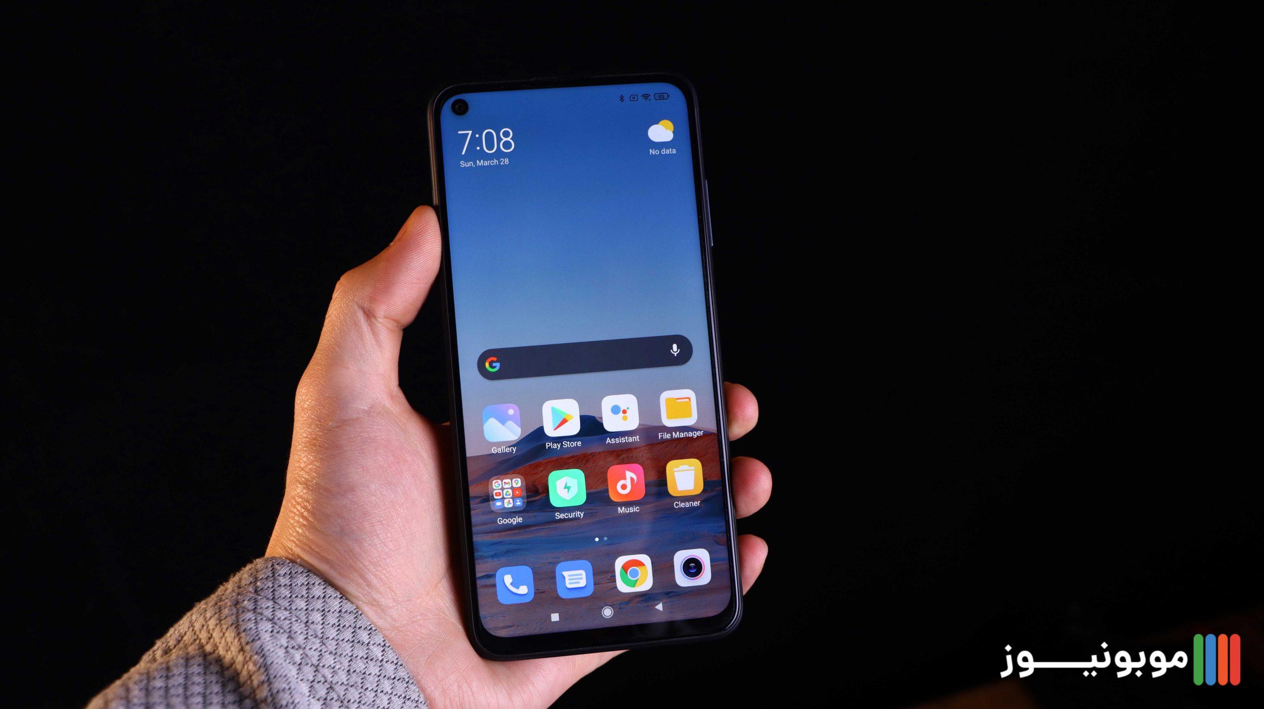 نمایشگر Redmi Note 9T