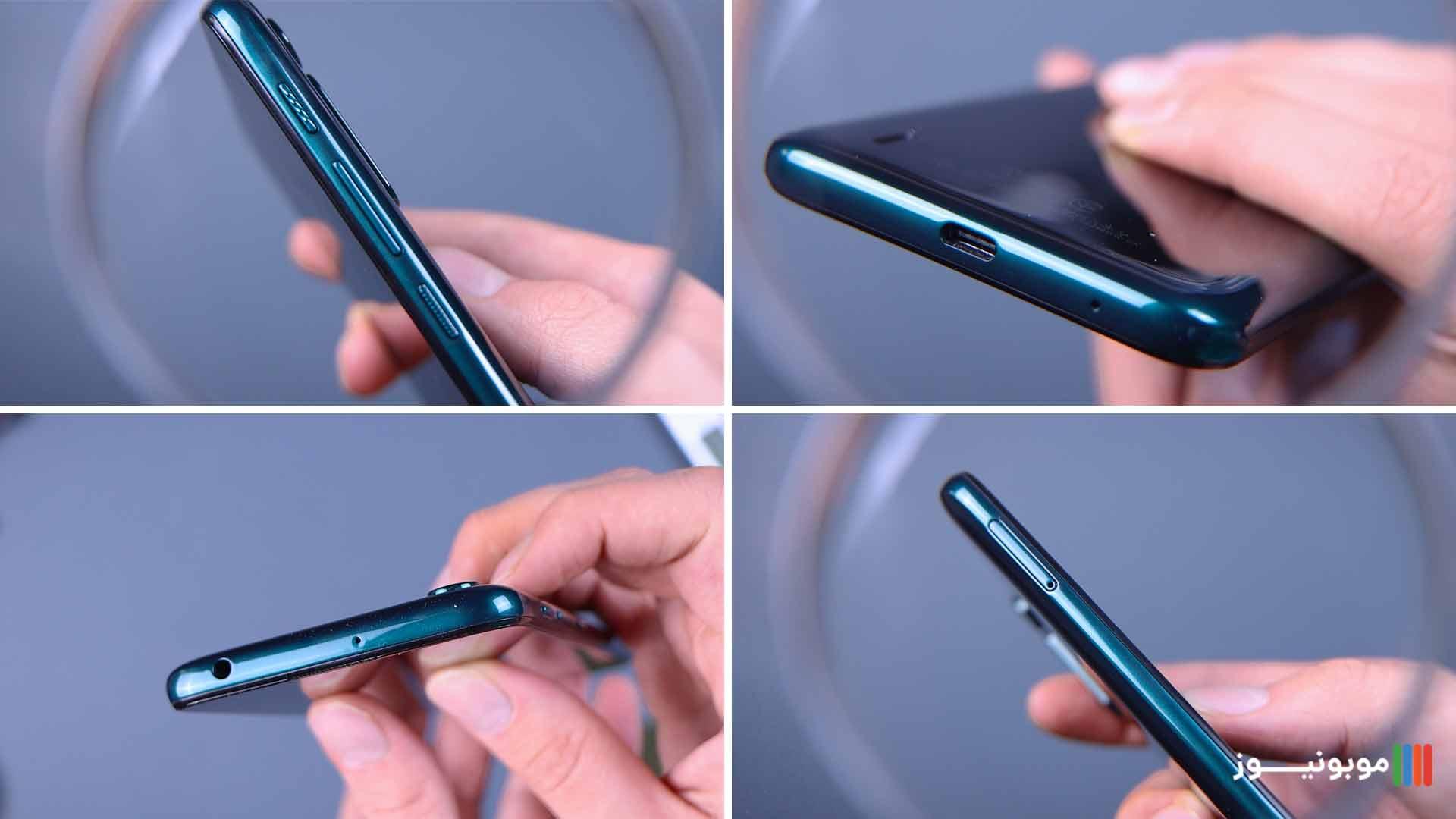 طراحی Motorola one fusion