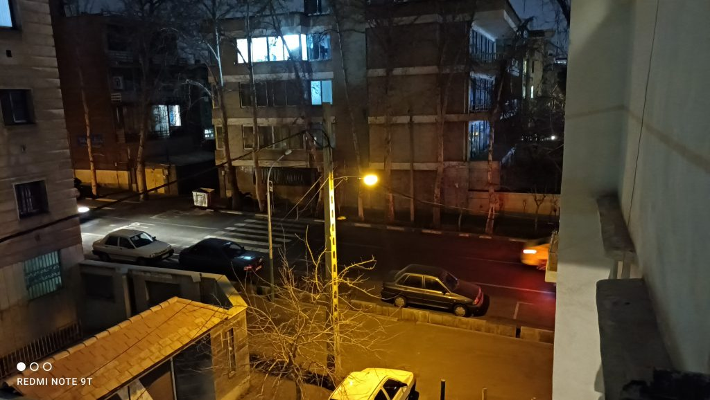 نمونه عکس حالت شب Redmi Note 9T