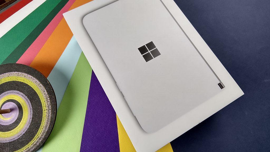 عکس سنسور اصلی Surface Duo