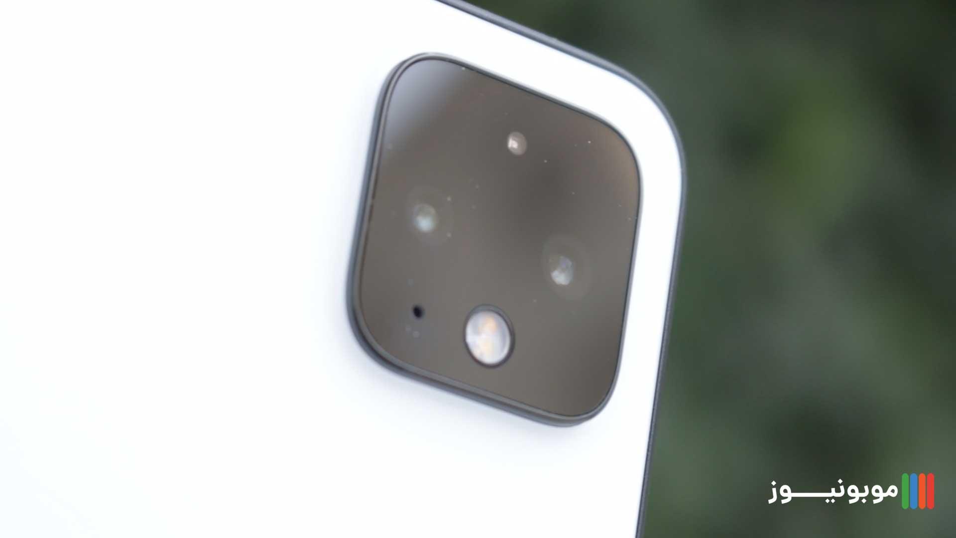 فریم دوربین های Pixel 4 XL