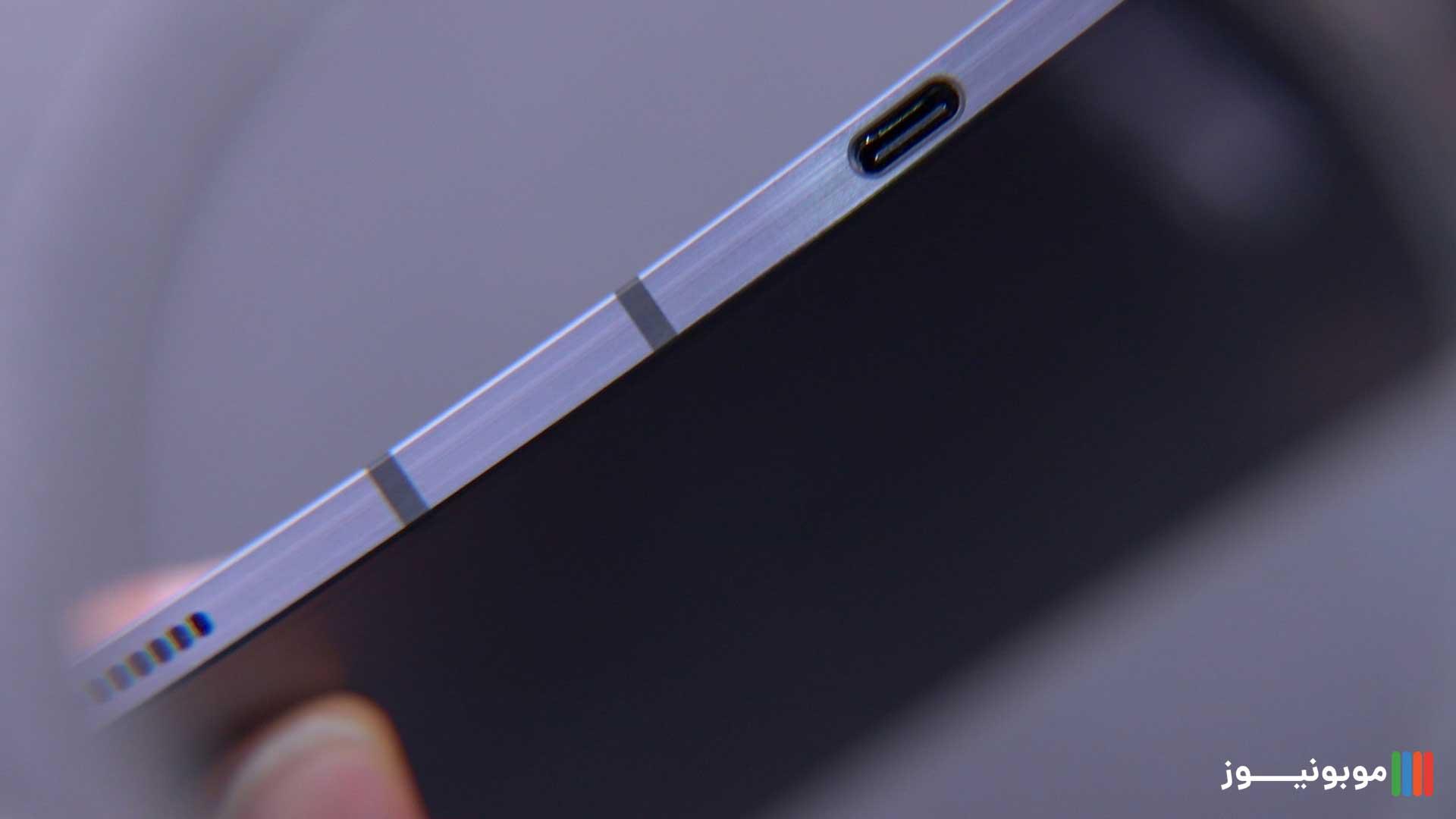 طراحی Galaxy Tab S7 Plus