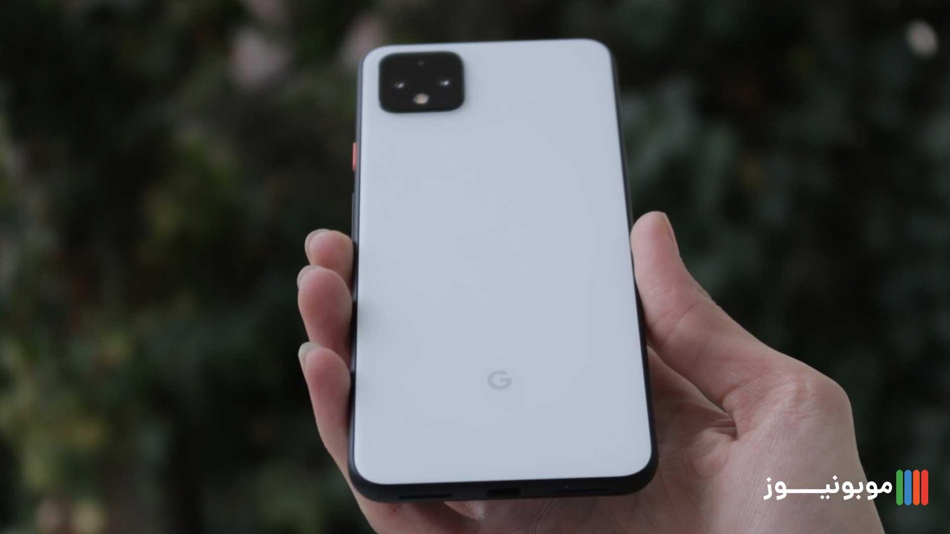 طراحی قاب پشتی Pixel 4 XL