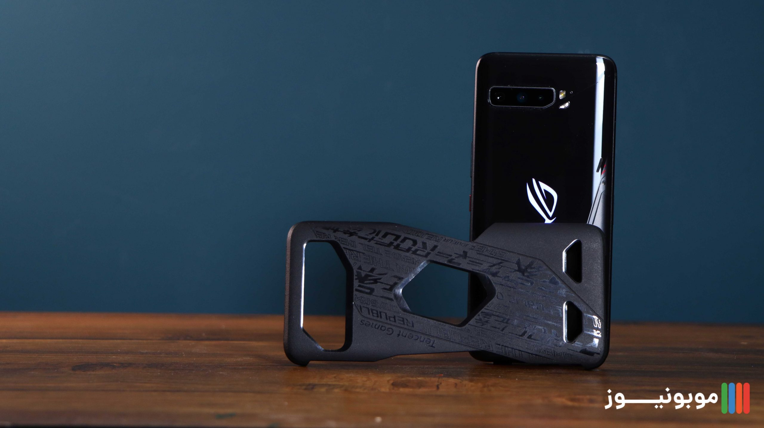 طراحی فریم پشتی ROG Phone 3