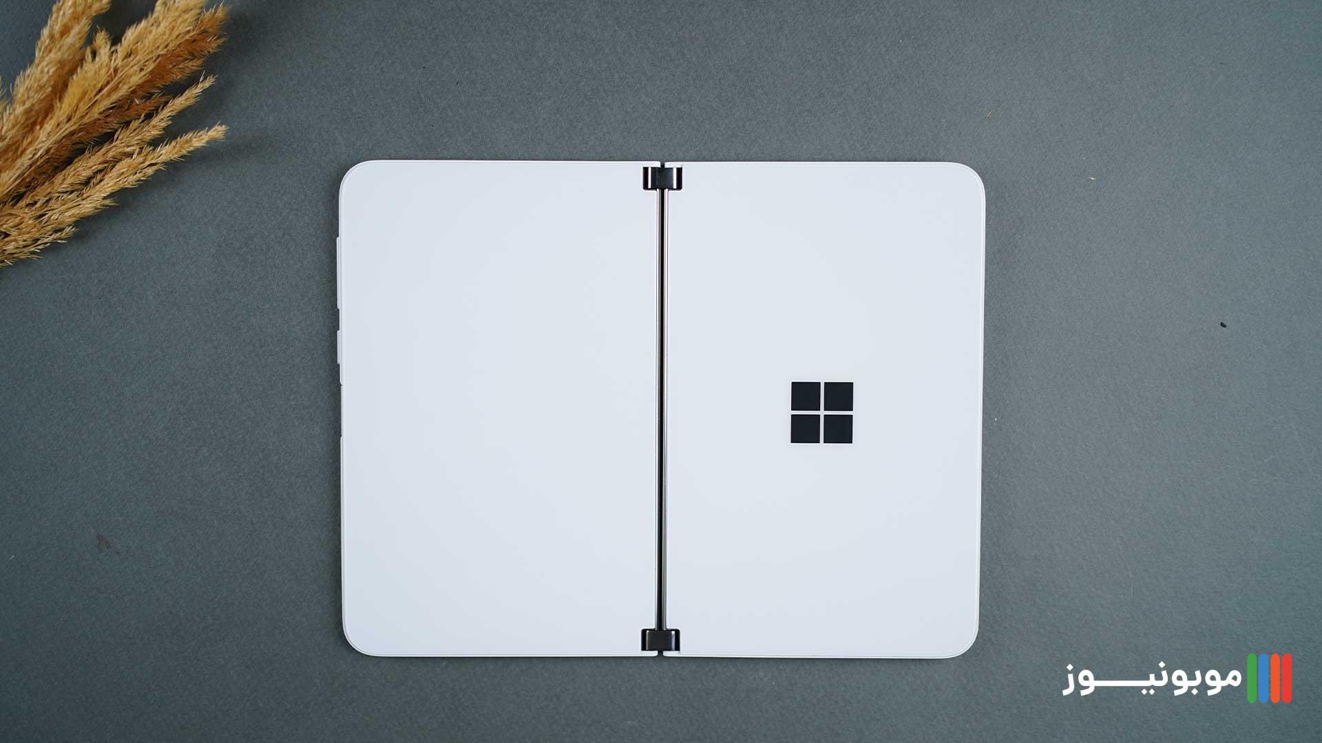 طراحی قاب پشتی Surface Duo