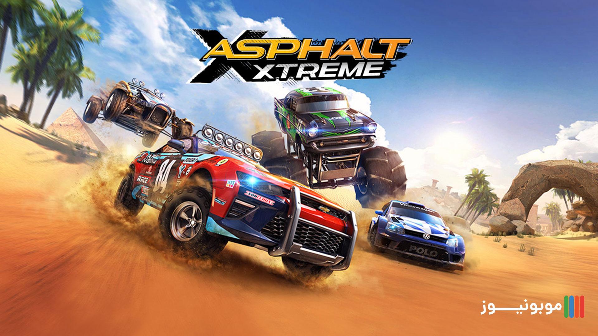 گیم پلی Asphalt Xtreme
