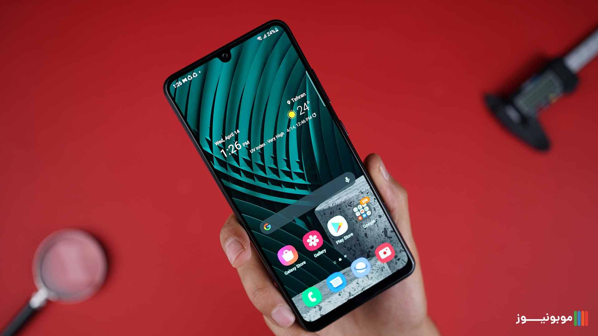 نمایشگر Galaxy A32