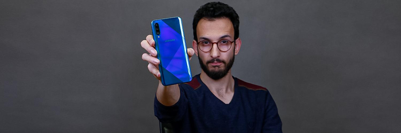 بررسی گوشی Galaxy A50s