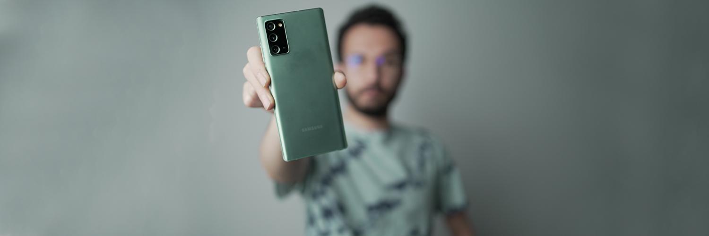 بررسی گوشی Galaxy Note 20