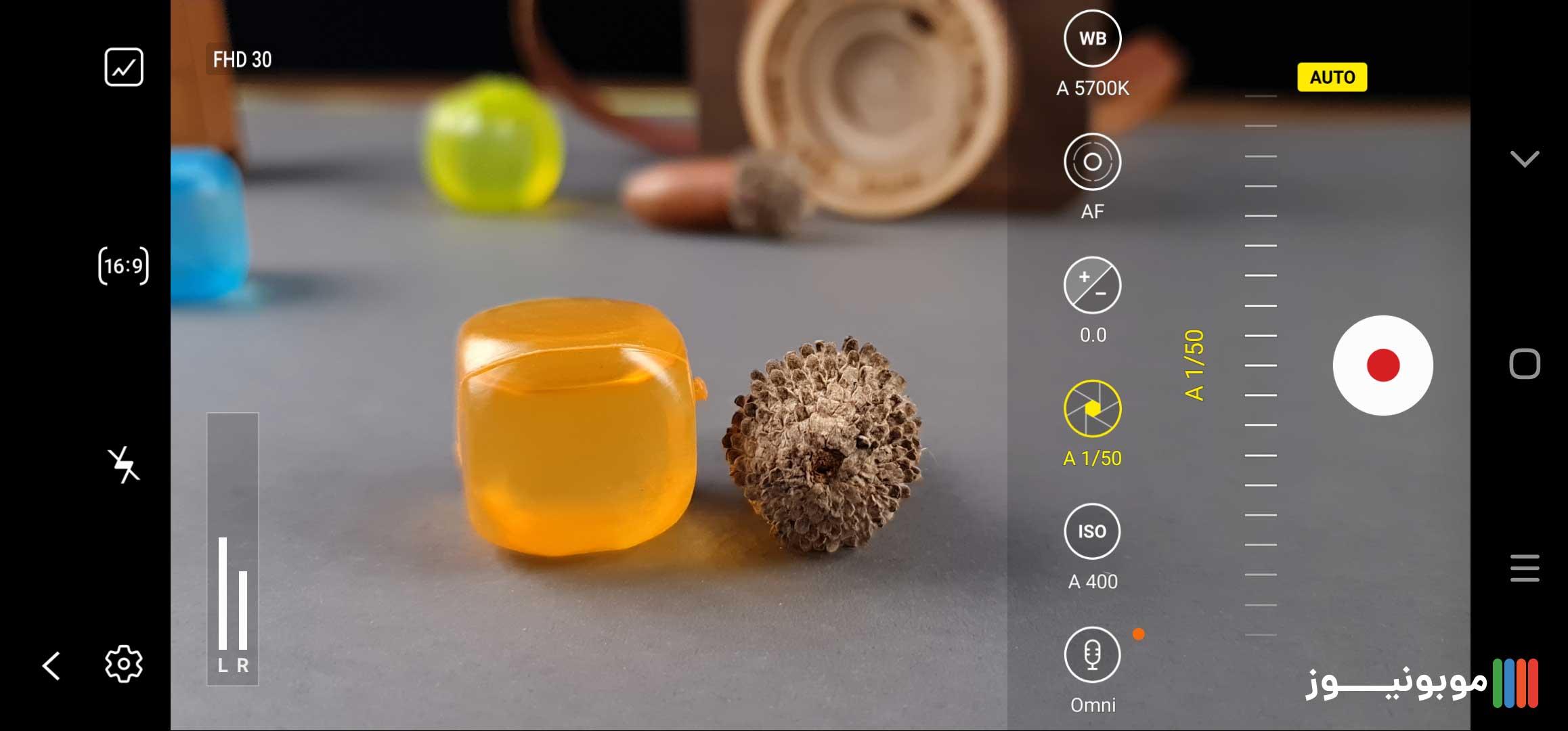 قابلیت Pro video Galaxy Note 20 Ultra