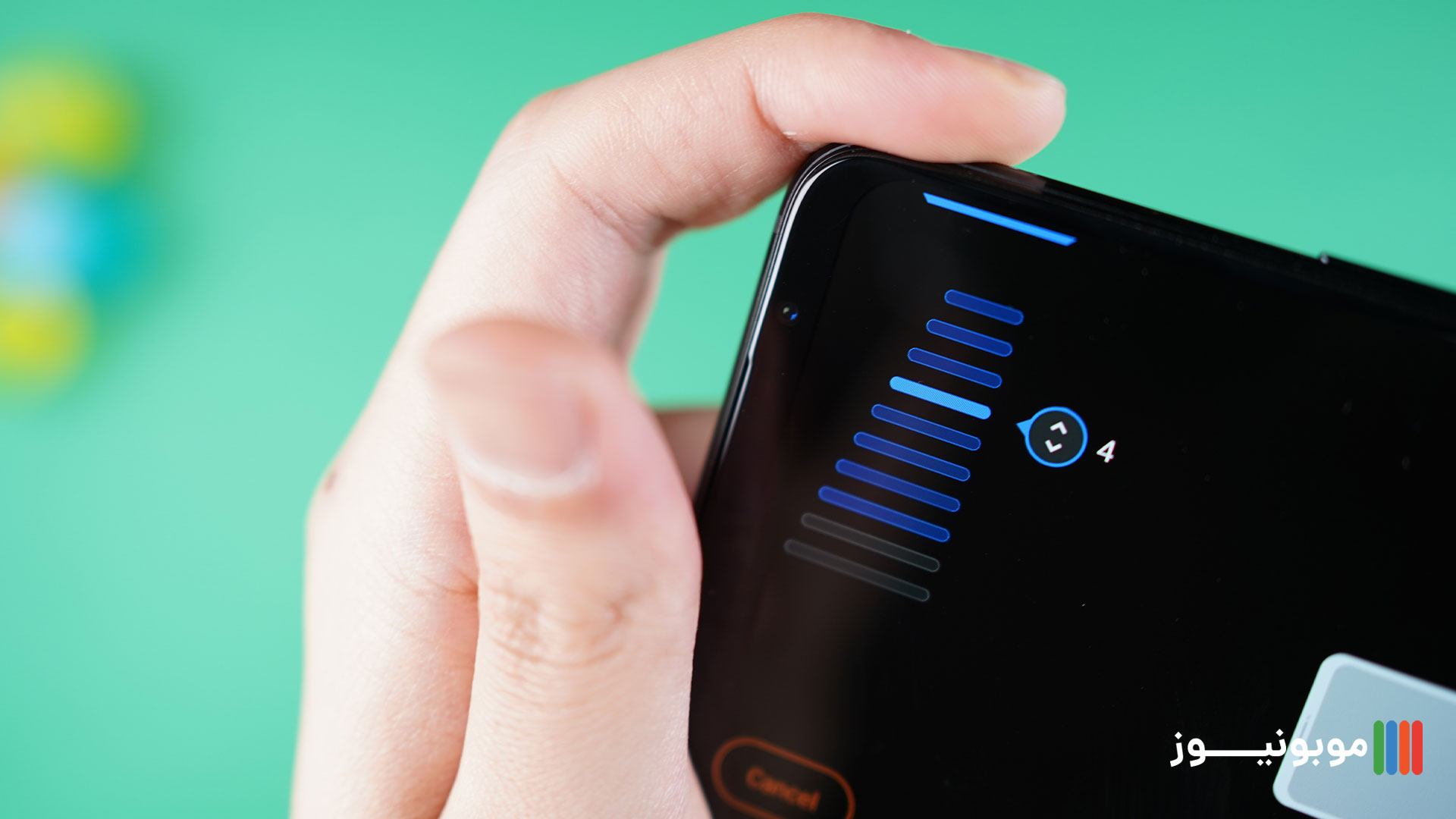 تنظیم کردن ایرتریگر های ROG PHONE 5
