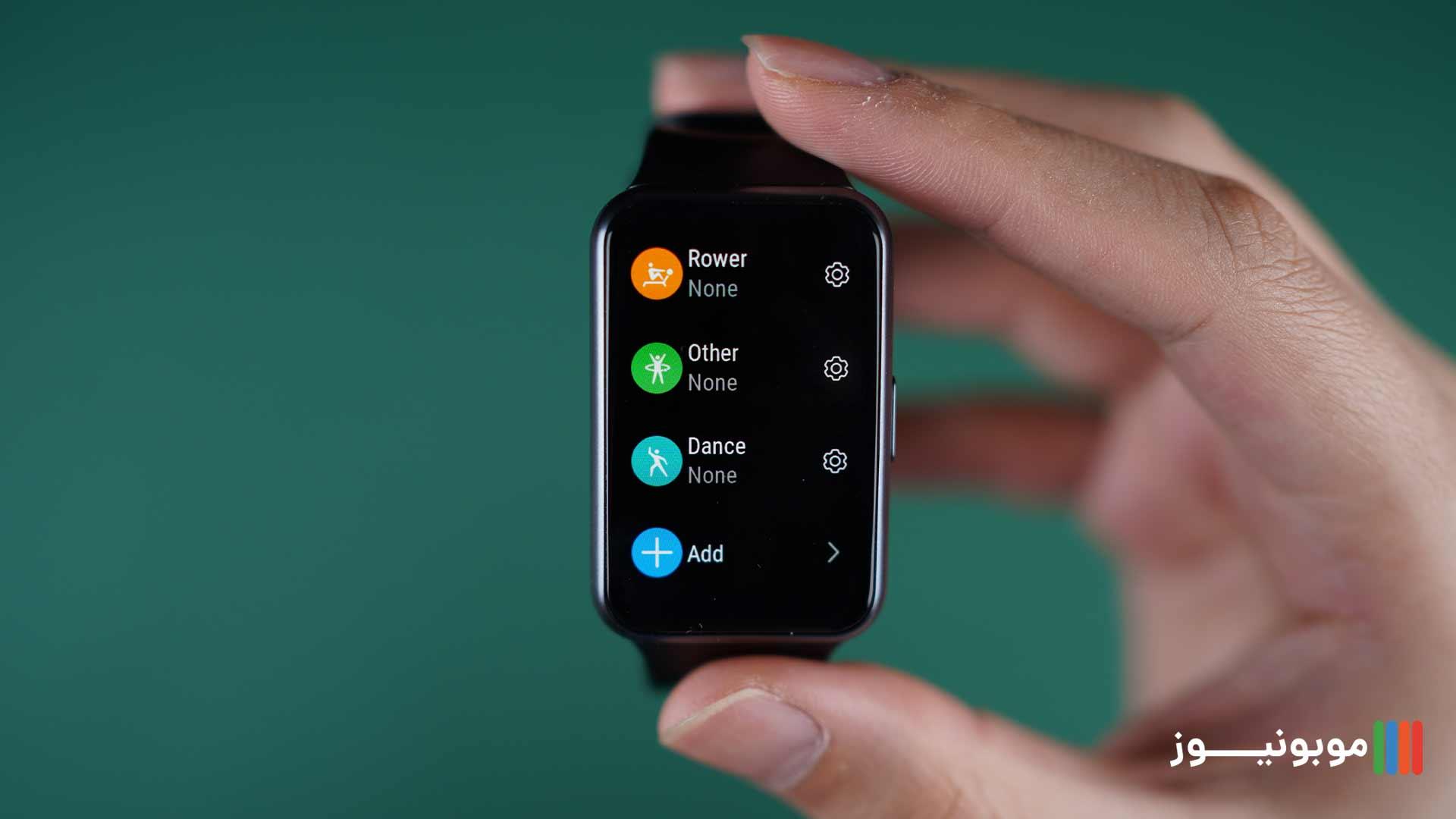 حالت های ورزشی Huawei Watch Fit