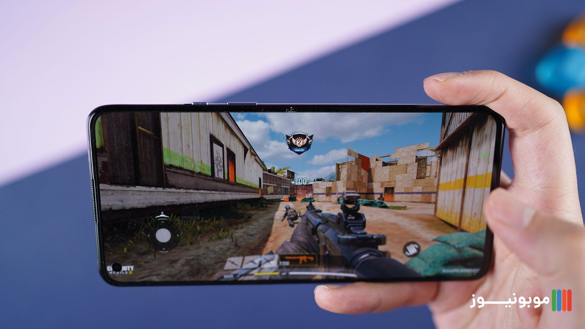 عملرکد پردازشی OnePlus 9 موقع بازی کردن
