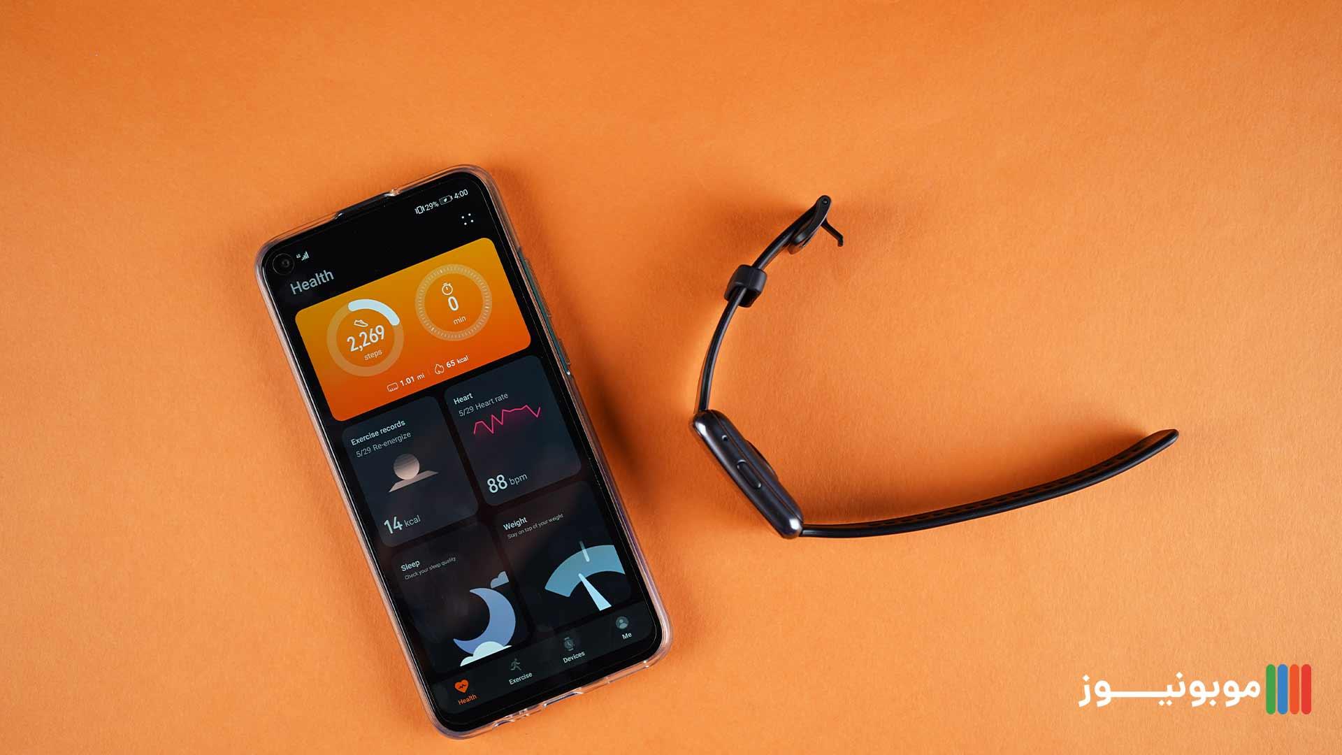 نرم افزار اندرویدی Huawei Watch Fit