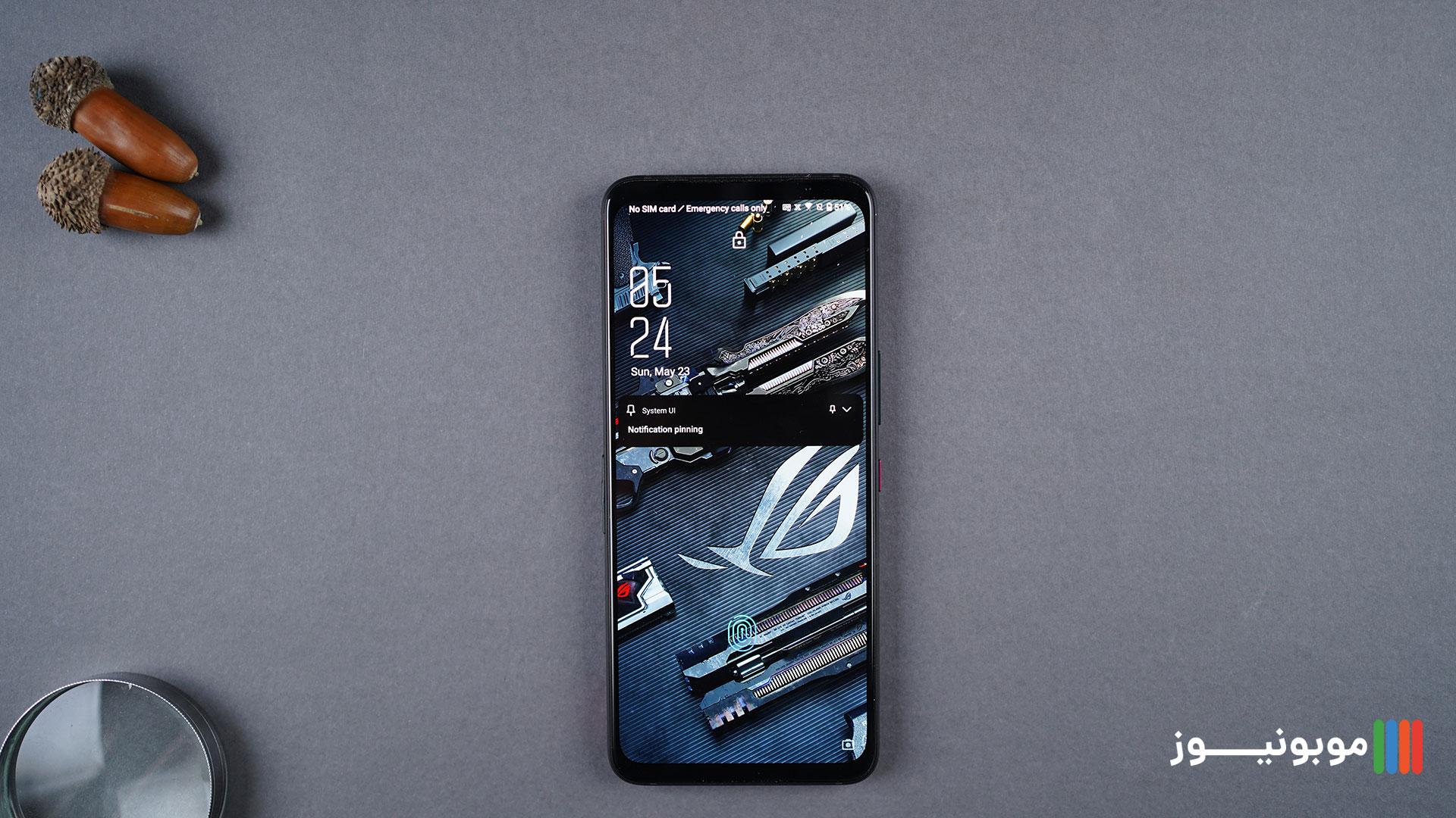 نمایشگر ROG PHONE 5